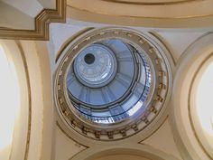 Capilla de Nuestra Señora del Buen Consejo. Cúpula. Esta capilla fue diseñada por sebastian Herrera Barnuevo.