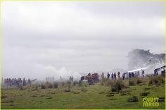 'Outlander' Behind the Scenes Photos of Sam Heughan Shooting Season Three | Outlander TV News