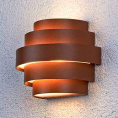 Led-buitenwandlamp Enia met overtuigend design 9618014