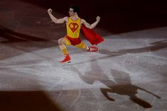 "Feb. 25 Olympics Highlights in Photos: 'Garlic Girls' Falls to Sweden in Curling, OAR Wins Hockey Gold - NBC 5 Dallas-Fort Worth - ""Super Jav"" - Javier Fernandez of Spain performs during the figure skating exhibition gala in the Gangneung Ice Arena at the 2018 Winter Olympics in Gangneung, South Korea, Sunday, Feb. 25, 2018. #icehockeyskates"