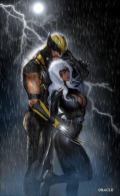 Is it just me or does Storm look a little too much like Black Cat?