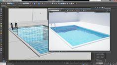 Sketchup Rendering, 3d Rendering, 3d Max Tutorial, Vray Tutorials, Texture Drawing, Autocad, Design, Arch, Engineering
