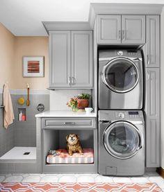 dog shower in laundry room garage ~ dog shower in laundry room ; dog shower in laundry room diy ; dog shower in laundry room garage ; dog shower in laundry room ideas ; dog shower in laundry room built ins ; dog shower in laundry room utility sink Mudroom Laundry Room, Laundry Room Layouts, Laundry Room Remodel, Farmhouse Laundry Room, Small Laundry Rooms, Laundry Room Organization, Laundry Room Design, Laundry Area, Laundry Storage