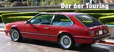 """Fake """" BMW 6-series Touring. This is another of BMW's April Fool's jokes, a long-roof version of the original E24 6-series """""""