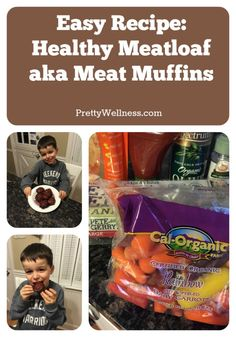 Easy Recipe Healthy Meatloaf Meat Muffins