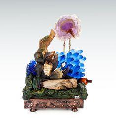 Stani Jan Borowski glass and wood