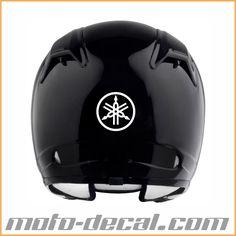 Reflective Yamaha Logo Motorcycle Helmet Decals, Yamaha Logo, Football Helmets, Logos, Ideas, Hard Hats, Logo, A Logo, Thoughts