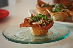 Yummy appetizer idea for 30th birthday party.