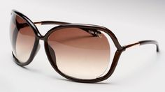 Tom Ford FT 0076 RAQUEL (692) Dark Transparent Brown w/ Brown Gradient lens sunglasses Tom Ford. $214.95. Save 47% Off!