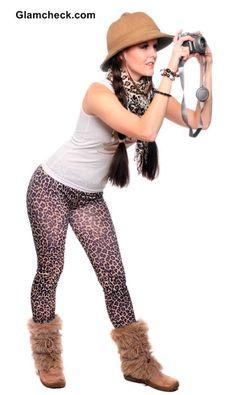 Animal Print leggings for Jungle Safari