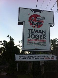 TEMAN JOGER di Bali, Bali