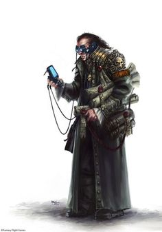 Adeptus Administratum - Civilian Life in Hive city - Necromunda - Warhammer 40K - GW [by Ilacha]: