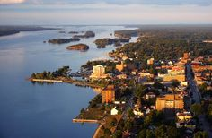 Frances Ford Seymour from Brockville, Ontario, in the 1000 Towns of Canada Canada Pictures, Canada Images, Saint Lawrence River, St Lawrence, O Canada, Canada Travel, Ontario, Thousand Islands, Largest Countries