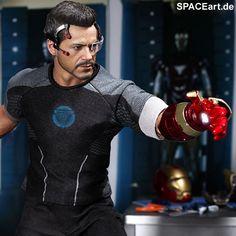 Iron Man 3: Tony Stark, Deluxe-Figur (voll beweglich) ... https://spaceart.de/produkte/irm014.php