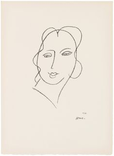 Browse and bid on the auction of HENRI MATISSE (1869-1954) by Etudes pour la Vierge 'Tête voilée': two plates (D. 642, 643), taking place at Christie's from 10-May-2018 09:00 AM (EST) – 17-May-2018 09:22 AM (EST). Number Stamps, Henri Matisse, Initials, Auction, Plates, Artist, Prints, Inspiration, Virgo