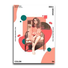 Color Poster Design Collection on Inspirationde Graphic Design Posters, Graphic Design Illustration, Graphic Design Inspiration, Creative Poster Design, Magazine Design, Magazine Layouts, Design Brochure, Brochure Layout, Corporate Brochure