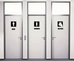 The Future Of Bathrooms.. I know a few ppl that will literally pee in their pants because they'll spend HOURS in the selfie one.