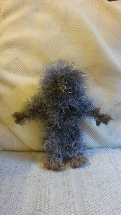 Check out this item in my Etsy shop https://www.etsy.com/listing/216196394/bigfoot-sasquatch-hand-crocheted-plush