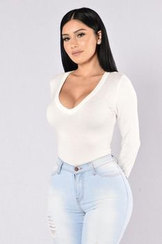 Voted Most Popular Bodysuit - White