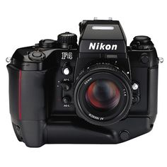 Nikon F4S; for when it has to be film. Just one of the most beautiful cameras ever (together with the F2). Built to withstand all knocks and bangs, all dials and no bbig LCD