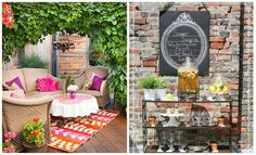 Really great tips for hosting a party in a small space without limiting the wow factor. #hosting #party #SmallSpace