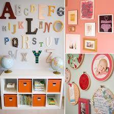 Baby nursery wall ideas.