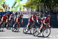 Gallery: 2014 Santos Tour Down Under, stage 6 - BMC on the job for runner-up Cadel Evans. Photo: Tim De Waele | TDWsport.com