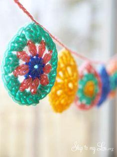 Crochet Easter Egg Garland