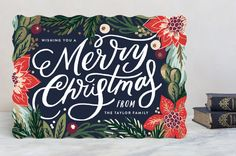 Botanicals Holiday Cards by Alethea and Ruth | Minted