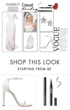 """Margot Robbie in Chanel - Academy Awards 2018"" by miriam83 ❤ liked on Polyvore featuring Stuart Weitzman and Chanel"