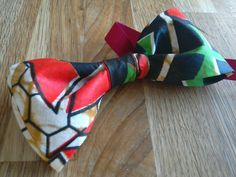Cotton print Bowtie #nigeria #bowties #funtowear #colourful #colorful #print Bowties, Colorful, Cotton, Handmade, Tie Bow, Hand Made, Bows, Butterfly, Bow Ties