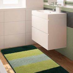Komplet łazienkowy w kolorze zielonym to idelany dodatek do nowoczesnej i oryginalnej łazienki. Dywaniki są antypoślizgowe oraz można je prać w pralce w 30 stopniach. Komplet łazienkowy można nabyć z dywanikiem z wycięciem pod toaletę oraz bez wycięcia. #dywan #dywany #kompletłazienkowy #dywaniki #dywanikidołazienki #zielony #zielonydywan #dywanzielony #butelkowazieleń #ciemnazieleń #dywandoprania #dywanydoprania #antypoślizgowy #łazienka #urządzamy #wnętrze #wnętrza #nowoczesnewnętrza… Home Carpet, Filing Cabinet, Shag Rug, Bath Mat, Rugs, Storage, Furniture, Home Decor, Products