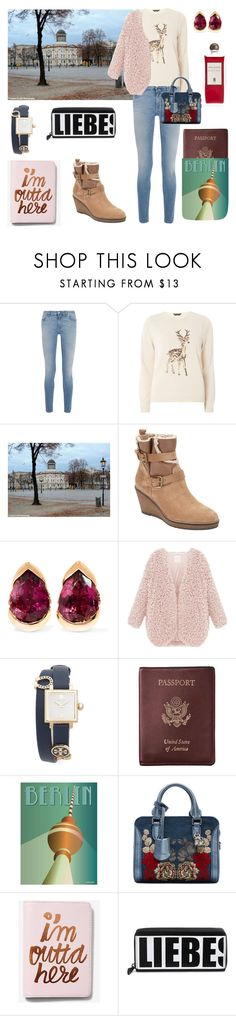 """""""Trip to Berlin!"""" by fuschiasilk ❤ liked on Polyvore featuring Givenchy, Dorothy Perkins, John Lewis, Fernando Jorge, Tory Burch, Royce Leather, ViSSEVASSE, Alexander McQueen, Express and Liebeskind"""