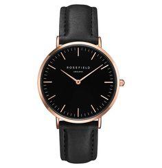Verschenke ein Erinnerungsstück: Diese elegante, minimalistische Uhr von Rosefield wirkt an jedem Handgelenk stilsicher und rundet jedes Outfit ab.
