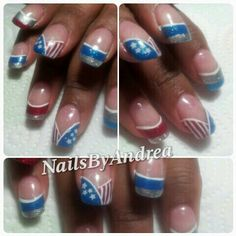 "Hello everyone...July 4th is approaching with a quickness. So if you want your nails done, gimme a call or text for acrylics, gels, gel polish, manicure and or pedicures. This week from Tuesday through Thursday 2 designs included in any of these services. Appointments are booking up quickly so don't miss out to get your nails did!!! Now offering ""REFER A FRIEND"" program. Please inquire for details at 540-922-6311 call now to book your appointment either by phone...text..at 540-922-6311 or…"