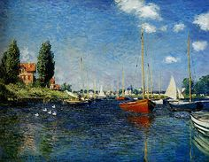 Argenteuil (1875) by Claude Monet