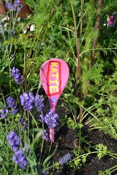Kids plant marker