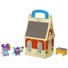 Playskool Sesame Street Abby Flying Fairy School Playset