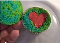 Earth Day Cupcakes - Foodista.com
