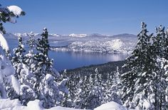 Winter in Nevada is a dreadful time for many, but it shouldn't be. Nevada is a beautiful place during winter. These amazing photos prove it. South Lake Tahoe, Lake Tahoe Winter, Tahoe Snow, Oh The Places You'll Go, Places To Travel, Places To Visit, Dream Vacations, Vacation Spots, Vacation Ideas