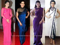 Samantha Stylish Saree Draping Style