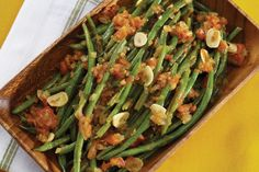 Long-cooked Green Beans with Tomatoes and Garlic - Circulon