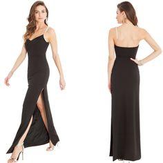 Sexy vestito lungo con lo spacco laterale  Taglia L  https://www.lorcastyle.it