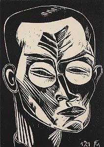 German expressionist lino