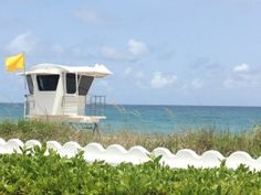 Lifeguard Tower In Palm Beach County