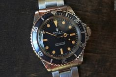 Rolex Submariner 5513 Meters First // 1968 // unpolished