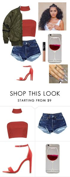"""""""Untitled #626"""" by official-jamaya ❤ liked on Polyvore featuring Boohoo, Charlotte Russe, Stampd and NARS Cosmetics"""