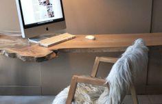 Melle Koot ontwerpstudio ::: dutch design ::: meubel & interieurontwerp / cradle to cradle consultant ::: duurzaam designer - Boomstam tafel, buro