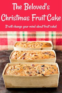 If you are a fan of fruitcake, my husband's recipe will become your new favorite. And if you are a fruit cake hater, it will change your mind. Based on Alton Brown's