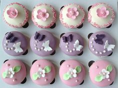 Birthday Cupcakes, Mini Cupcakes, Mini Cheesecakes, Baking, Blog, Anniversary Cupcakes, Patisserie, Backen, Blogging